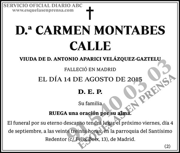 Carmen Montables Calle